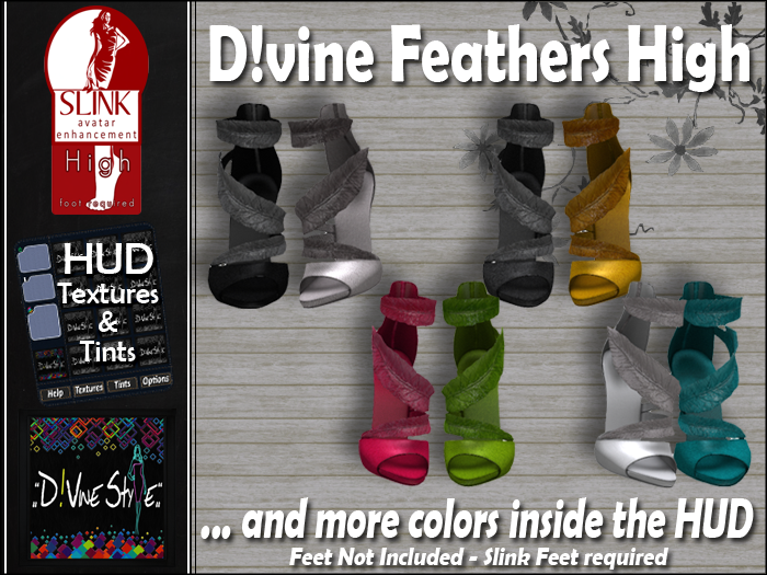 :: D!vine Style :: DiVine Feathers High and Mid