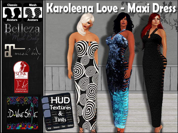 :: D!vine Style :: Karoleena Love – Maxi Dress