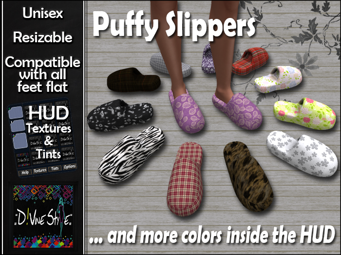 :: D!vine Style :: Puffy Slippers