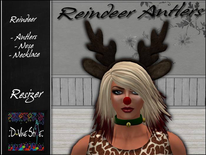 Christmas Gift – Reindeer Antlers