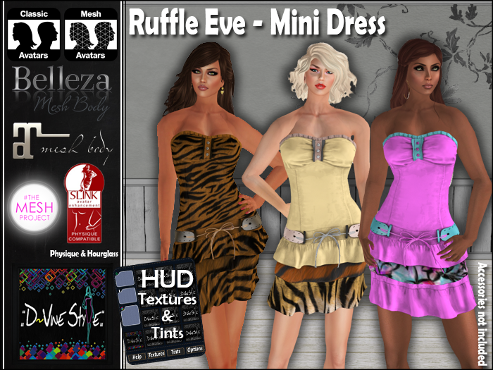 :: D!vine Style :: Ruffle Eve – Mini Dress