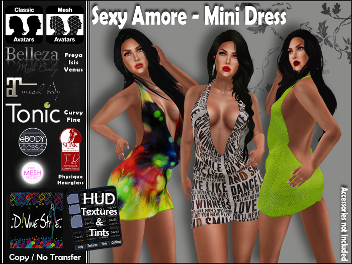 :: D!vine Style :: Sexy Amore – Mini Dress