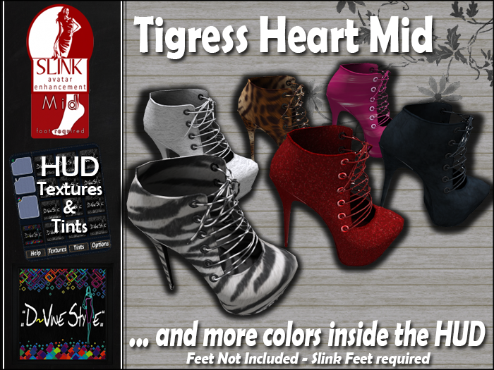 Tigress Heart - Slink Mid