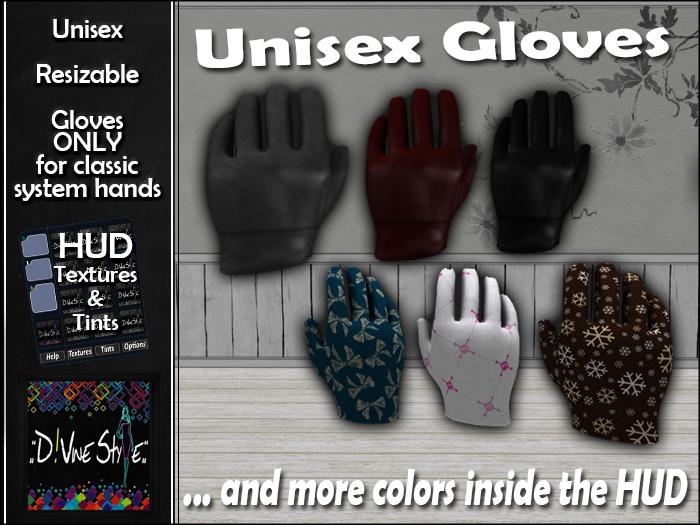 :: D!vine Style :: Unisex Gloves
