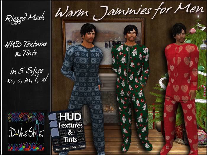 :: D!Vine Style :: Warm Jammies for Men