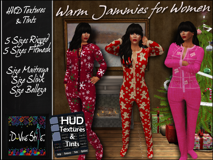 :: D!Vine Style :: Warm Jammies for Women