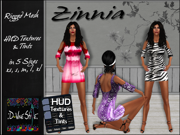 :: D!vine Style :: Zinnia – Dress – with HUD