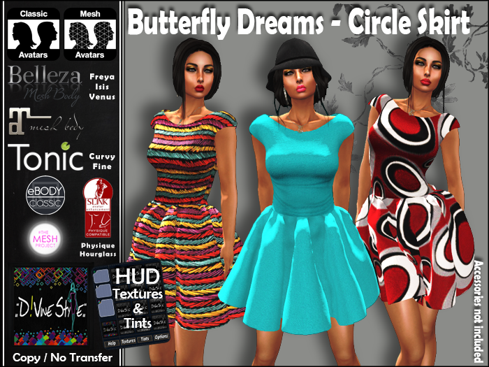 :: D!vine Style :: Butterfly Dreams – Circle Skirt Dress