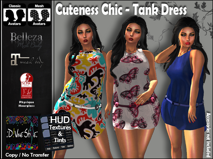:: D!vine Style :: Cuteness Chic – Tank Dress