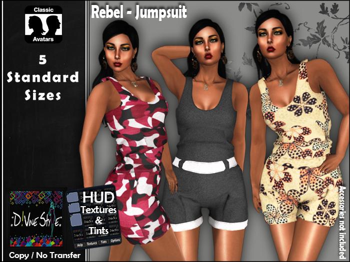 :: D!vine Style :: Rebel – Jumpsuit