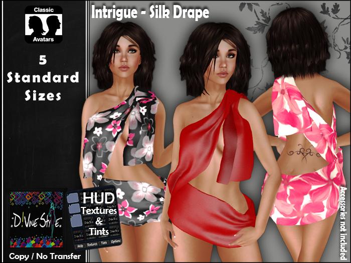 :: D!vine Style :: Intrigue – Silk Drape