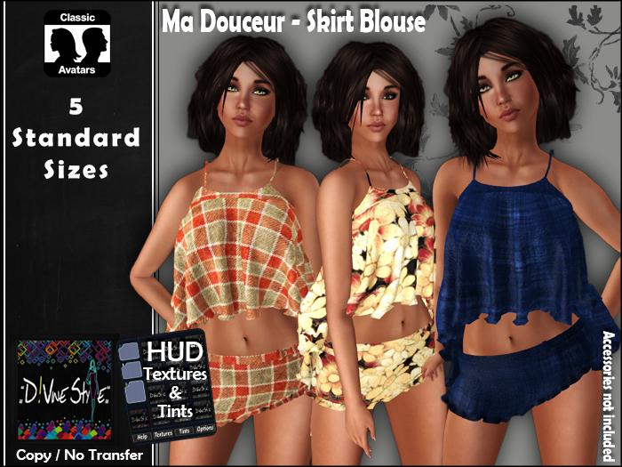 :: D!vine Style :: Ma Douceur – Skirt Blouse