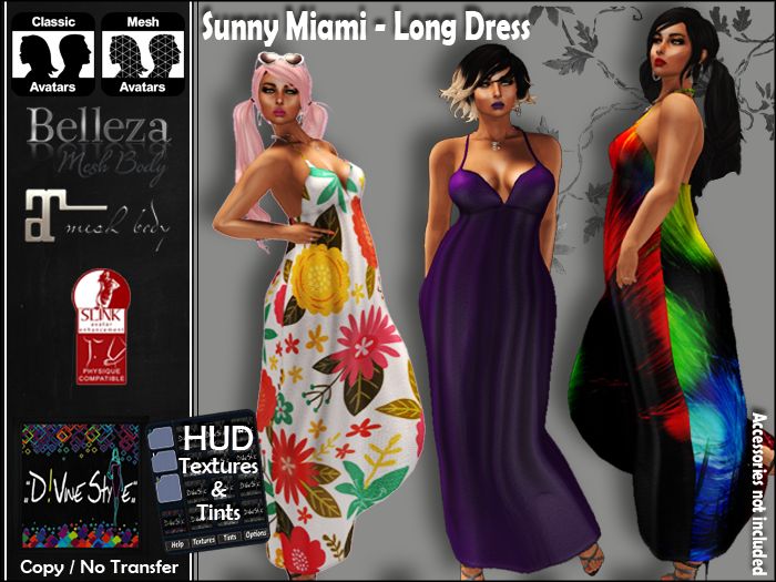 :: D!vine Style :: Sunny Miami – Long Dress