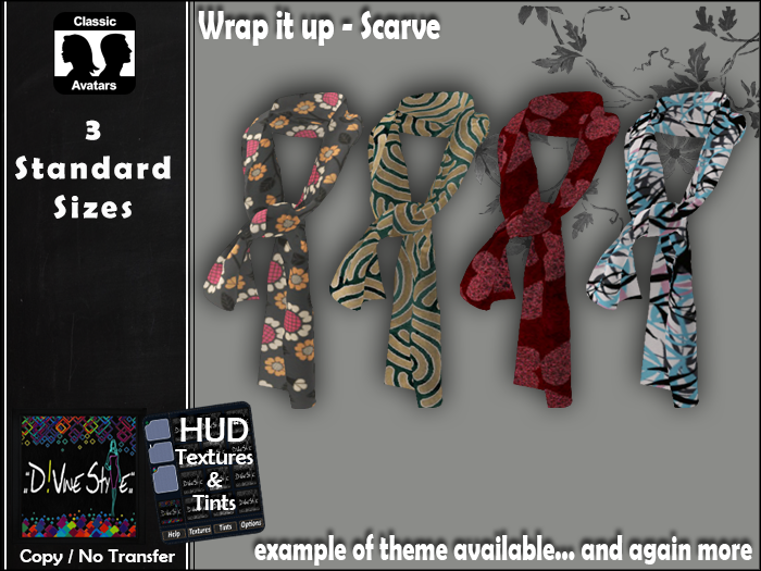 :: D!vine Style :: Wrap it up – Scarve