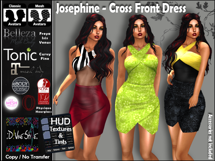 :: D!vine Style :: Josephine – Cross Front Dress