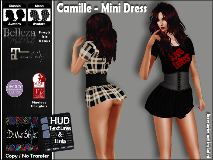 :: D!vine Style :: Camille – Mini Dress