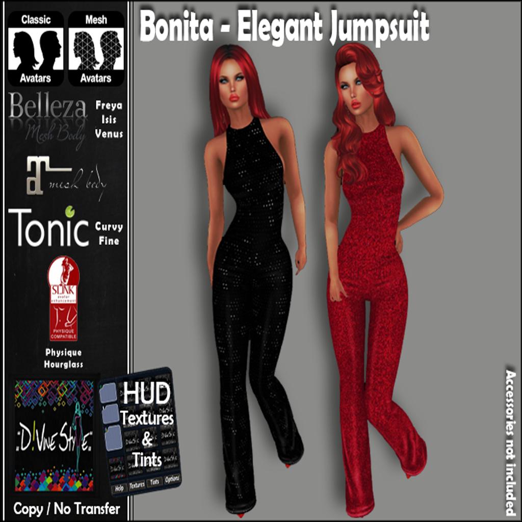 :: D!vine Style :: Bonita – Elegant Jumpsuit