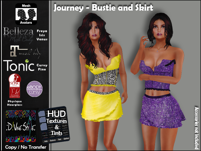 :: D!vine Style :: Journey – Bustie and Skirt