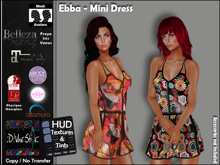 :: D!vine Style :: Ebba – Mini Dress