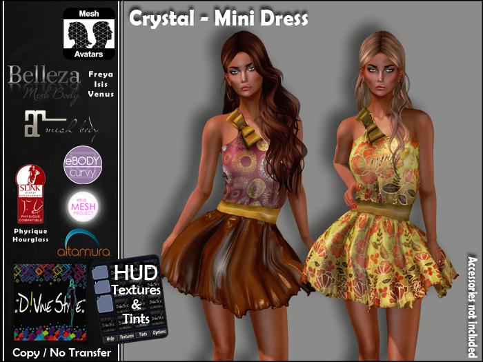 :: D!vine Style :: Crystal – Mini Dress